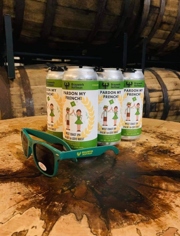 Pardon My French Beers from Brauwerk Hoffman Rockland Brewery