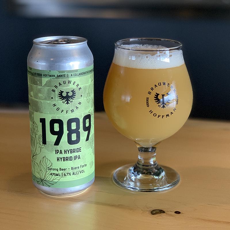 1989 Hybrid IPA beer