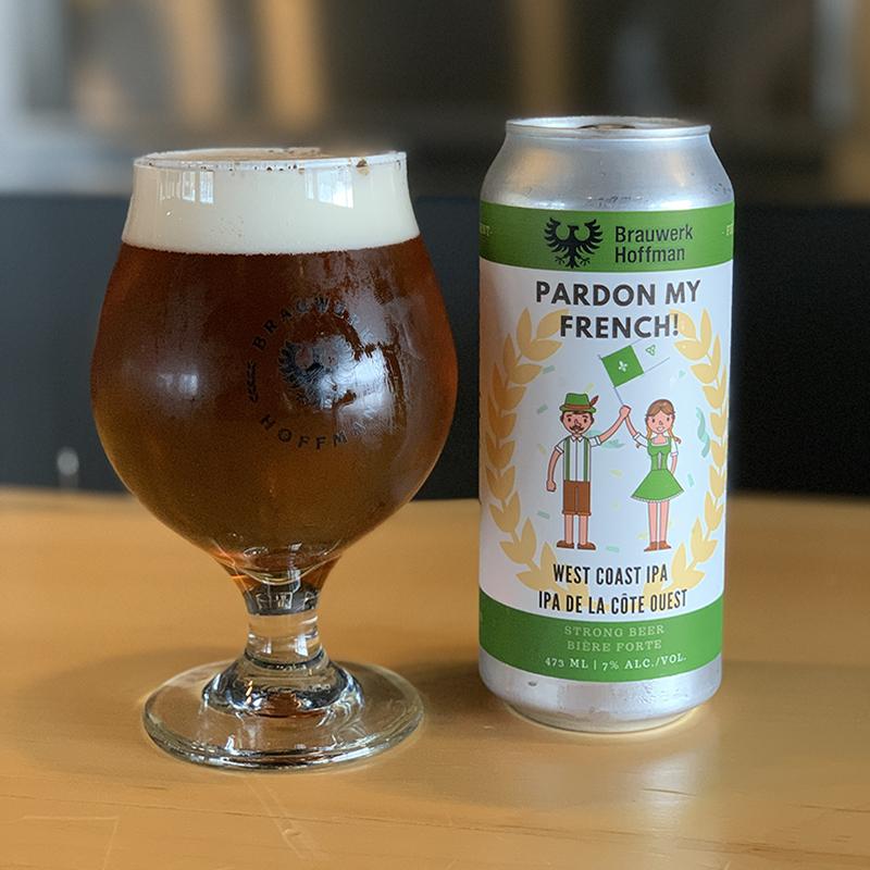 Pardon My French West Coast IPA