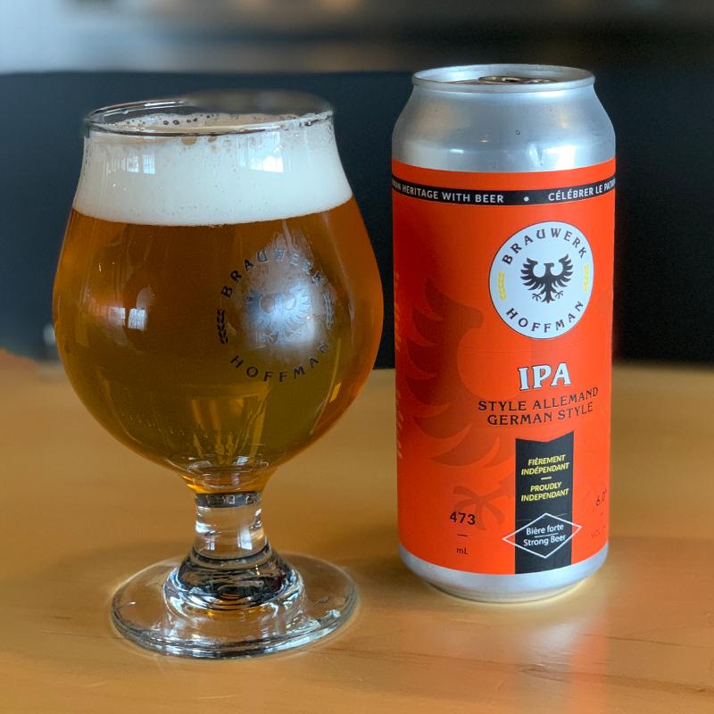 German Style IPA beer